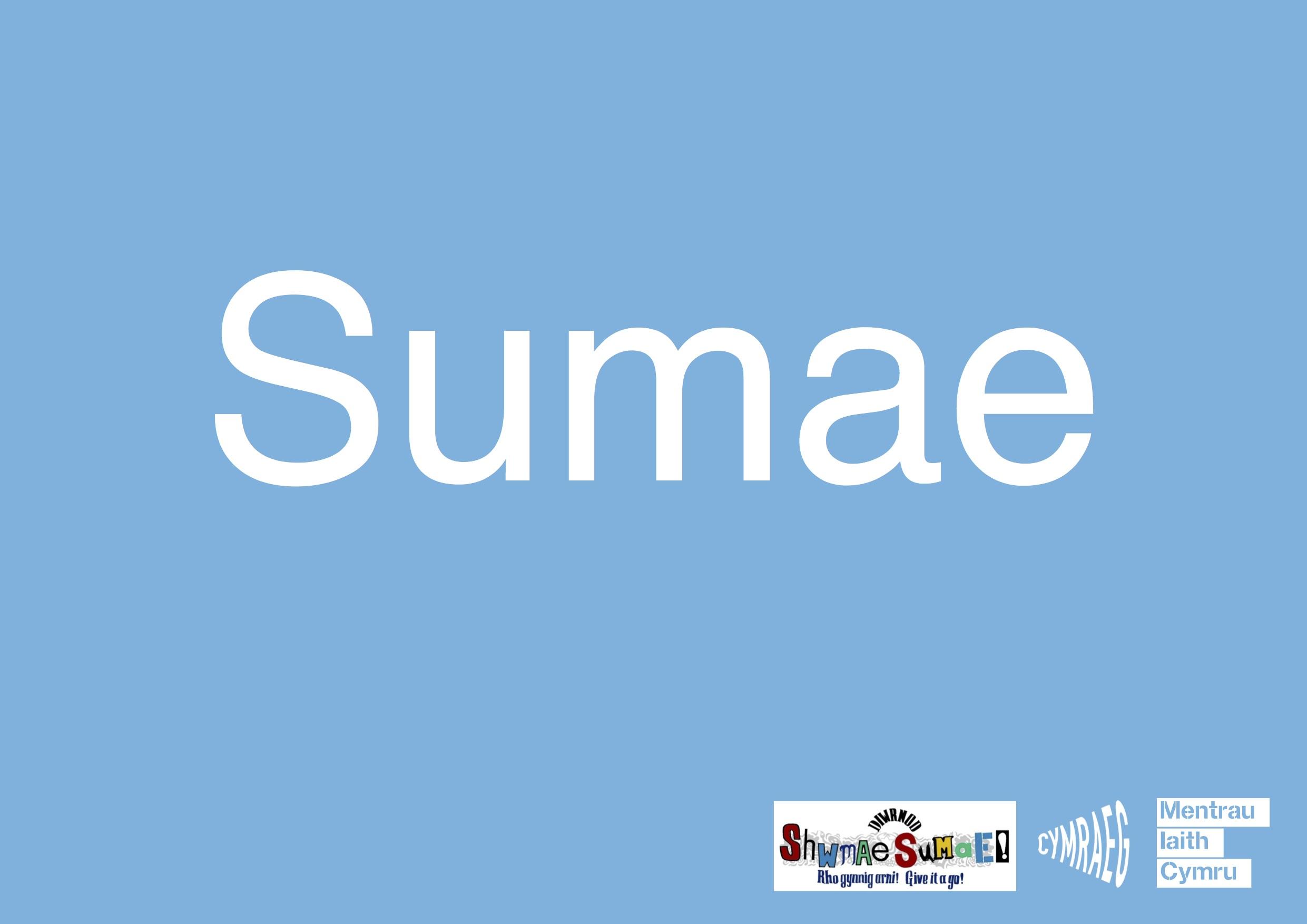 Arwydd Sumae